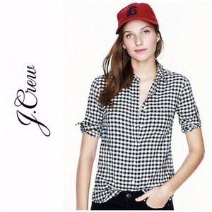 J. Crew's Classic Fit Boy Shirt, Gingham